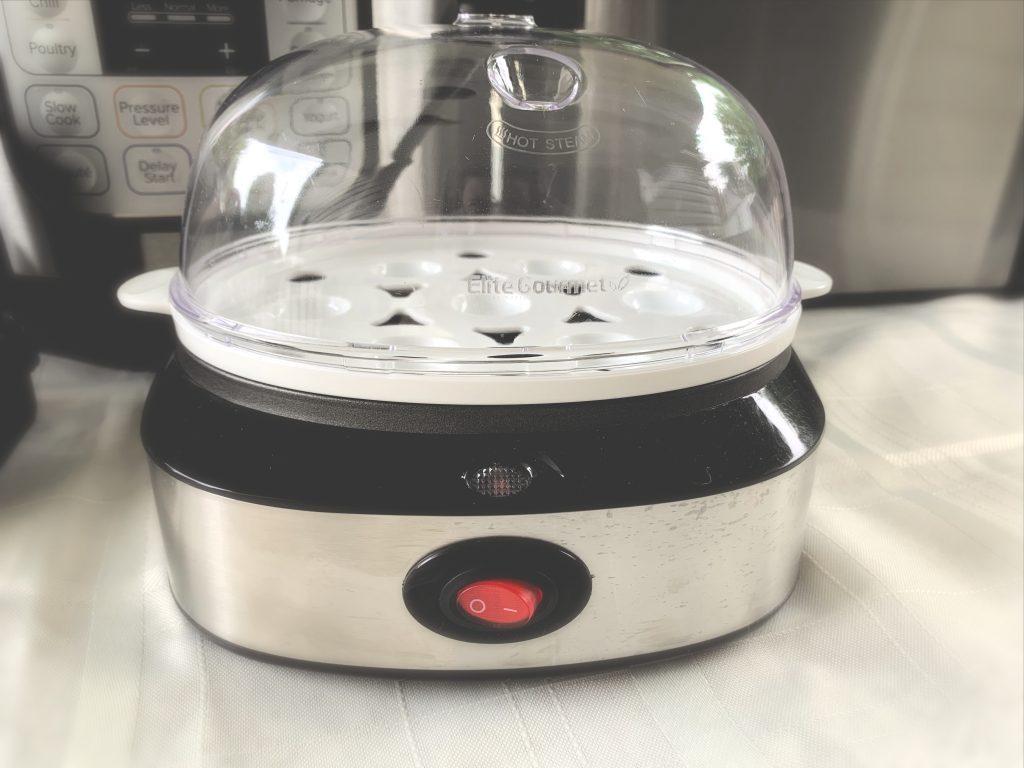 Elite Gourmet Egg Cooker Kitchen Gadget